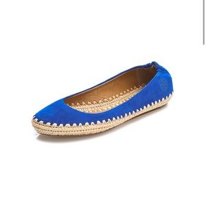 Tory Burch Holiday Suede Ballet Espadrille 6